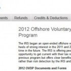 Important Details Regarding the IRS Offshore Voluntary Disclosure Program